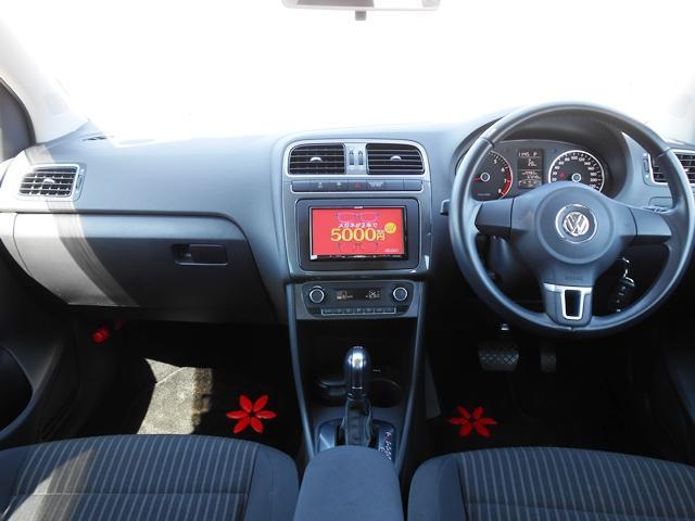 フォルクスワーゲン VW ポロ TSIハイライン SDナビ 地デジ バックカメラ ドラレコ