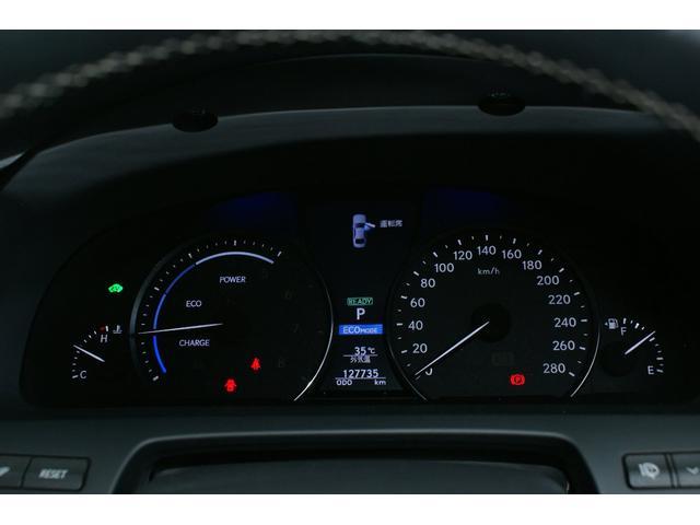 LS600h Fスポーツ TRDフルエアロ マフラー 19インチホイール ETC ドラレコ スピードレーダー デイライト ワンオーナー(33枚目)