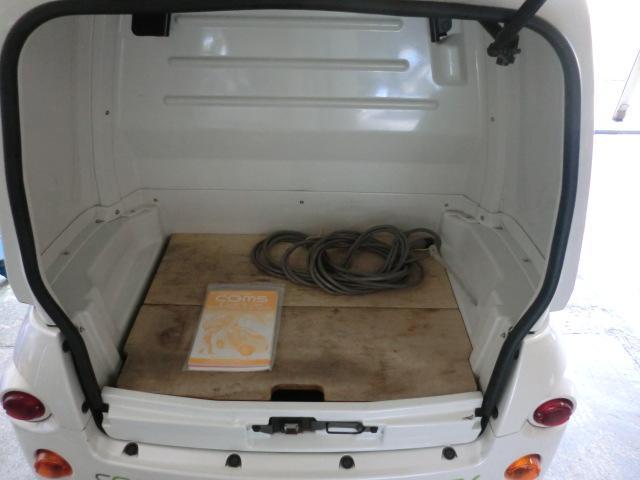 トヨタ トヨタ トヨタ コムス B-COM 100V充電 純正アルミ付ドア付
