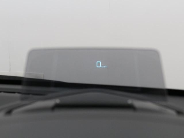 【ヘッドアップディスプレイ】視線上に車速などを表示することで、ドライバーの視線移動や焦点の調節を減らして安全に貢献♪