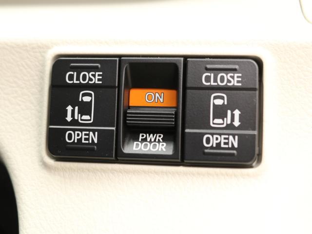 【両側電動スライドドア】ワンタッチでスライドドアの開閉が可能!お子様を抱いている時・両手いっぱいに荷物をお持ちの時も楽々開閉!広い開口部で乗り降りもスムーズです!