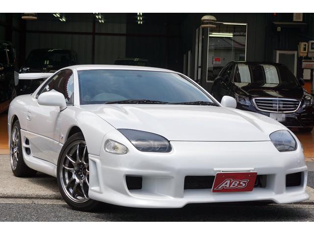 三菱 GTO ツインターボ ストラーダナビ 車高調 18AW