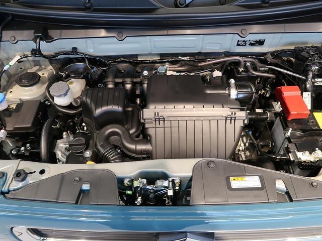 ハイブリッドG 登録済み未使用車 スズキセーフティーサポート オートライト オートハイビーム オートエアコン クリアランスソナー 前席シートヒーター 横滑り防止 ステアリングリモコン スマートキー プッシュスタート(21枚目)