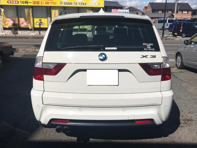 「BMW」「X3」「SUV・クロカン」「愛知県」の中古車6