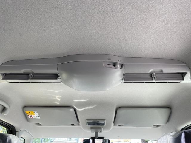 ハイブリッドX 届出済未使用車 衝突軽減ブレーキ 両側電動スライド オートエアコン シートヒーター ベンチシート フルフラットシート 軽自動車(23枚目)