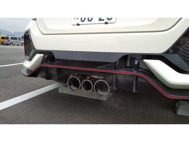 タイプR 6速MT クルコン LED Bカメラ 当社デモカー(10枚目)