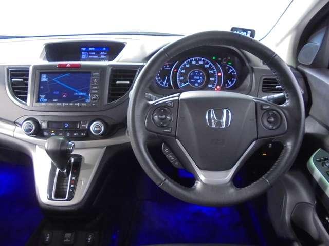 ホンダ CR-V 20G レザーPKG 純正HDDナビ 黒革シート 1オーナー