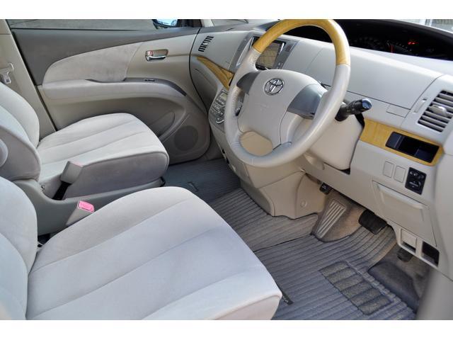 トヨタ エスティマ 2.4アエラス G-ED 後席モニターHDD 両側Pスライド