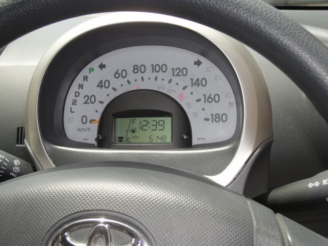 とても見やすいスピードメーターになっております。