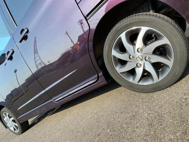 ハイウェイスター 左リヤ電動スライドドア HIDヘッド 純正アルミ スタッドレスタイヤ4本付 2年間走行距離無制限保証付(10枚目)