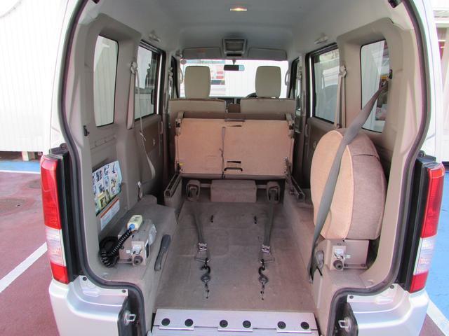 車いす移動車 スローパー 電動ウインチ リアシート付4人乗り(11枚目)