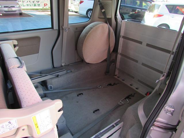 車いす移動車 スローパー 電動ウインチ リアシート付4人乗り(14枚目)