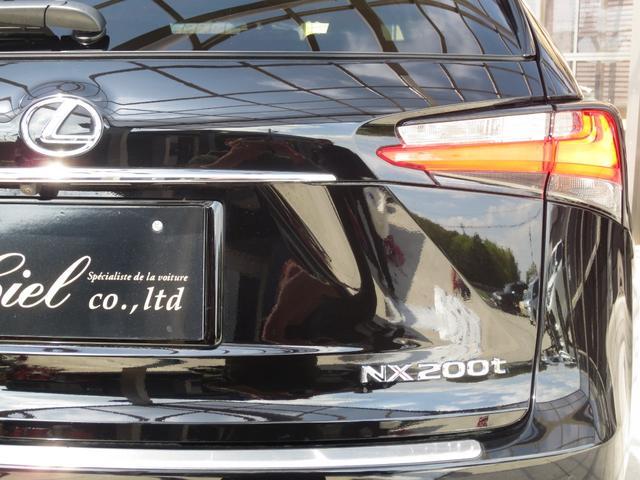 NX200t バージョンL 黒皮 プリクラッシュ BSM(17枚目)