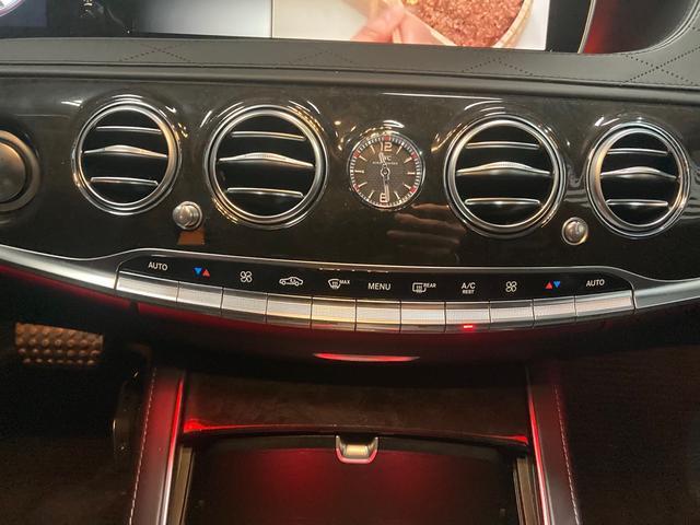 S63 AMG 4マチックロング 左H 黒革 パノラマSR LEDヘッドライト レーダーセーフティ HDDナビ DTV Bカメラ 360° パワーシート シートヒーター ベンチレーター  エアサス キーレスゴー(7枚目)