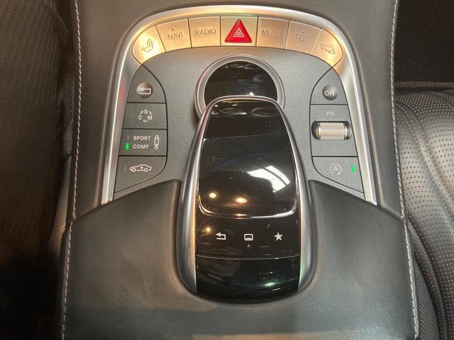 S63 AMG 4マチックロング 左H 黒革 パノラマSR LEDヘッドライト レーダーセーフティ HDDナビ DTV Bカメラ 360° パワーシート シートヒーター ベンチレーター  エアサス キーレスゴー(11枚目)