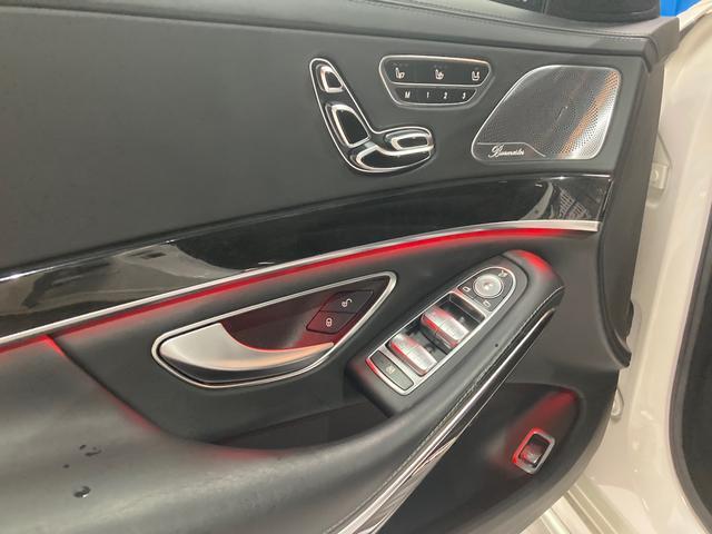 S63 AMG 4マチックロング 左H 黒革 パノラマSR LEDヘッドライト レーダーセーフティ HDDナビ DTV Bカメラ 360° パワーシート シートヒーター ベンチレーター  エアサス キーレスゴー(16枚目)