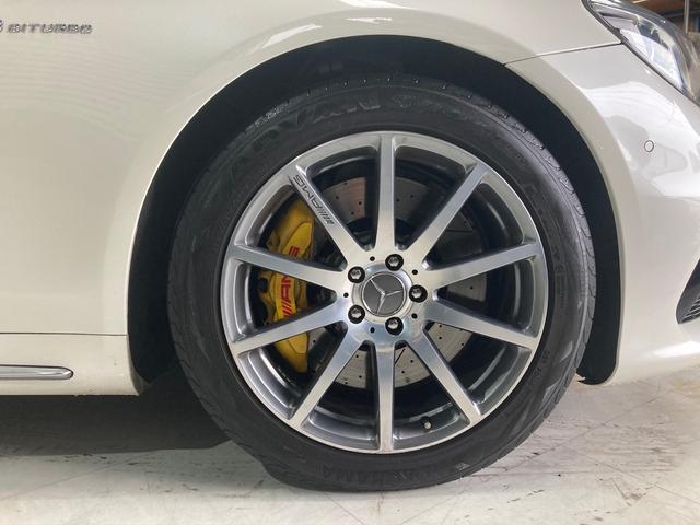 S63 AMG 4マチックロング 左H 黒革 パノラマSR LEDヘッドライト レーダーセーフティ HDDナビ DTV Bカメラ 360° パワーシート シートヒーター ベンチレーター  エアサス キーレスゴー(38枚目)