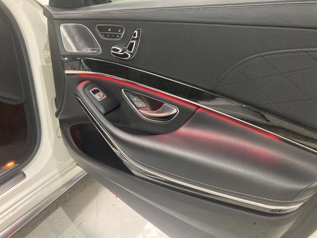 S63 AMG 4マチックロング 左H 黒革 パノラマSR LEDヘッドライト レーダーセーフティ HDDナビ DTV Bカメラ 360° パワーシート シートヒーター ベンチレーター  エアサス キーレスゴー(40枚目)