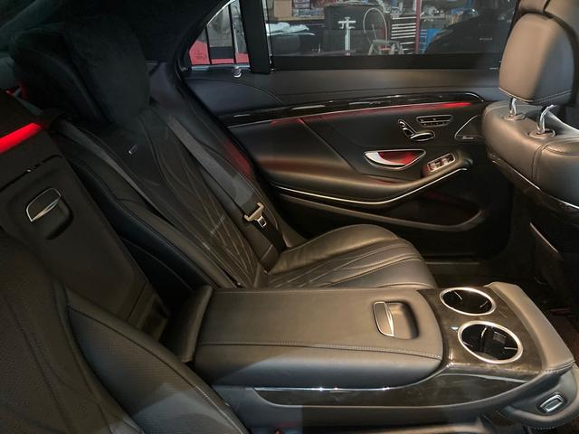 S63 AMG 4マチックロング 左H 黒革 パノラマSR LEDヘッドライト レーダーセーフティ HDDナビ DTV Bカメラ 360° パワーシート シートヒーター ベンチレーター  エアサス キーレスゴー(47枚目)