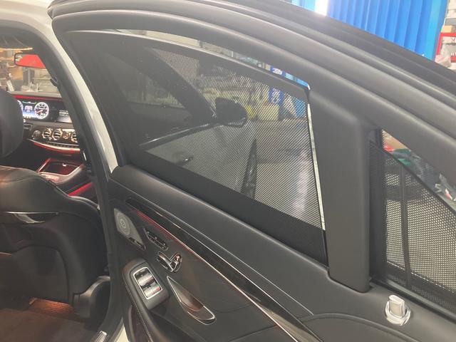 S63 AMG 4マチックロング 左H 黒革 パノラマSR LEDヘッドライト レーダーセーフティ HDDナビ DTV Bカメラ 360° パワーシート シートヒーター ベンチレーター  エアサス キーレスゴー(55枚目)