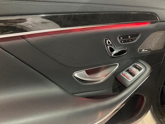 S63 AMG 4マチックロング 左H 黒革 パノラマSR LEDヘッドライト レーダーセーフティ HDDナビ DTV Bカメラ 360° パワーシート シートヒーター ベンチレーター  エアサス キーレスゴー(56枚目)