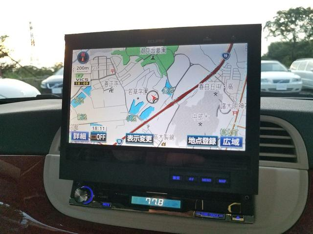 付いてて嬉しい装備であるインダッシュ社外HDDナビゲーション!地デジ内蔵です!