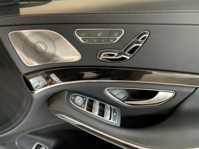 メモリー機能付きパワーシートには、シートヒーター、ベンチレーション機能も装備されています。