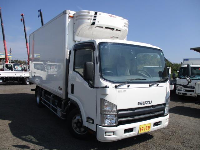 いすゞ エルフトラック 冷蔵冷凍車 ワイドロング 低温ー30℃ 可動式2室 3t