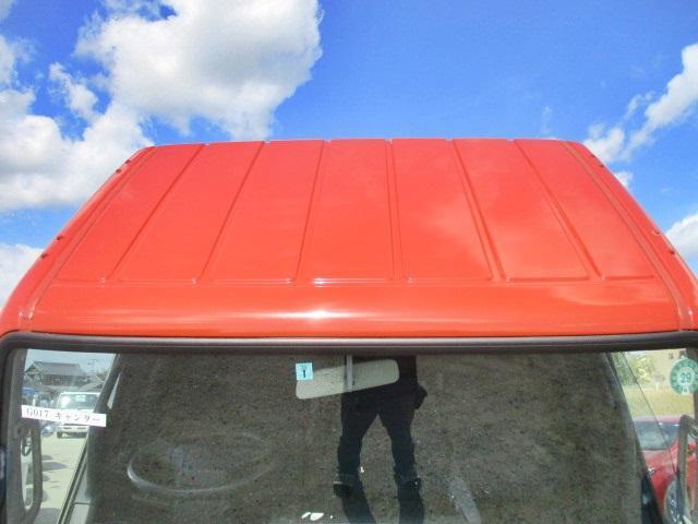 三菱ふそう キャンター 平ボディ 垂直パワーゲート ラジコン付 1.5トン荷台鉄板張