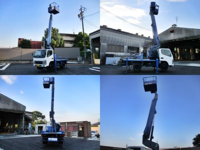 高所作業車 作業床高12m タダノ製AT121 新車時架装(10枚目)