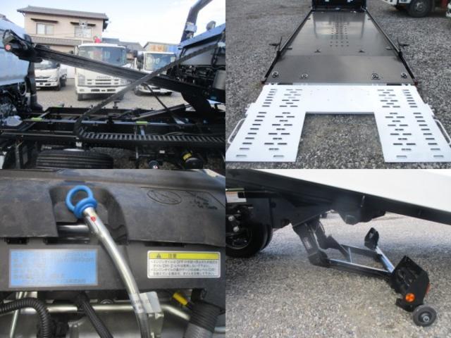 積載車 ラジコン 極東フラトップZERO 積載3300kg(12枚目)