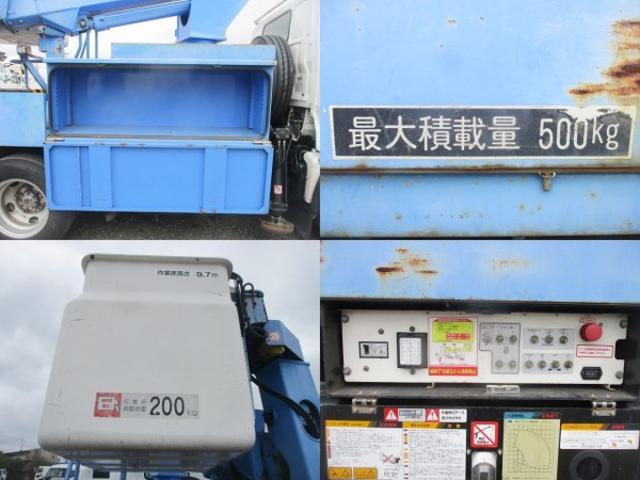 高所作業車 アイチ SS10A 新車時架装 作業床高9.7M(12枚目)