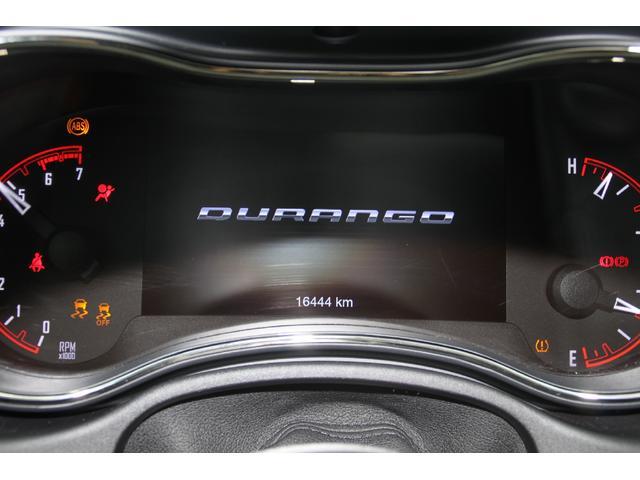 ダッジ ダッジ デュランゴ RT 4WD 実走行証明書付