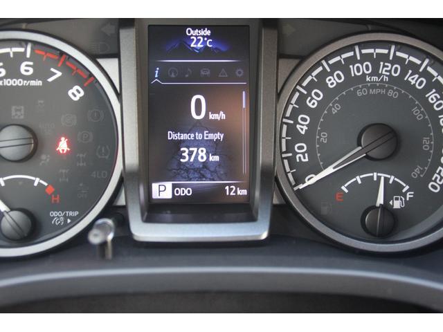 ダブルキャブ TRDオフロード プレミアム 2020年モデル新車 レザーシート サンルーフ スマートキー アップルカープレイ(11枚目)