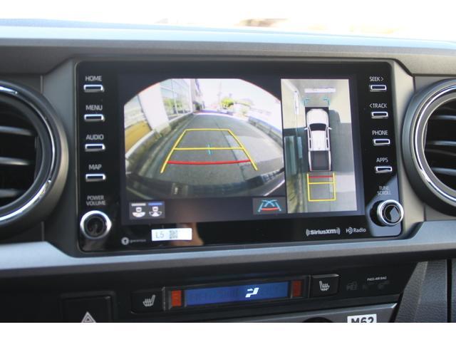 ダブルキャブ TRDオフロード プレミアム 2020年モデル新車 レザーシート サンルーフ スマートキー アップルカープレイ(16枚目)
