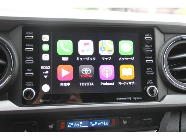 ダブルキャブ TRDオフロード プレミアム 2020年モデル新車 レザーシート サンルーフ スマートキー アップルカープレイ(17枚目)