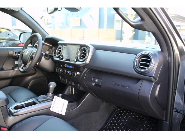 ダブルキャブ TRDオフロード プレミアム 2020年モデル新車 レザーシート サンルーフ スマートキー アップルカープレイ(27枚目)