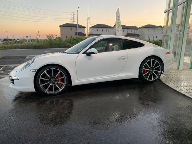 911カレラS 新車並行 サンルーフ スポーツエキゾースト ベージュ革 エアーシート&ヒーター ターボII20 エントリー&ドライブ HDDナビ/地デジ/Bカメラ ポルシェディーラー整備記録(5枚目)