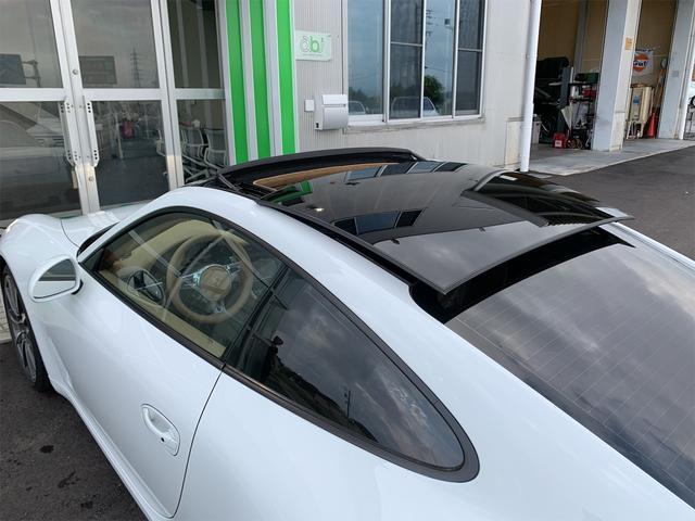 911カレラS 新車並行 サンルーフ スポーツエキゾースト ベージュ革 エアーシート&ヒーター ターボII20 エントリー&ドライブ HDDナビ/地デジ/Bカメラ ポルシェディーラー整備記録(15枚目)