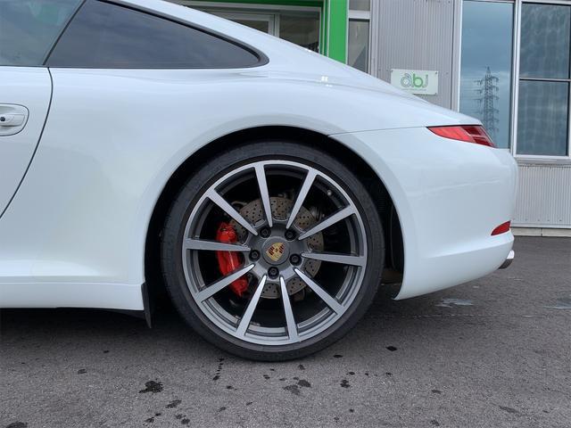 911カレラS 新車並行 サンルーフ スポーツエキゾースト ベージュ革 エアーシート&ヒーター ターボII20 エントリー&ドライブ HDDナビ/地デジ/Bカメラ ポルシェディーラー整備記録(17枚目)
