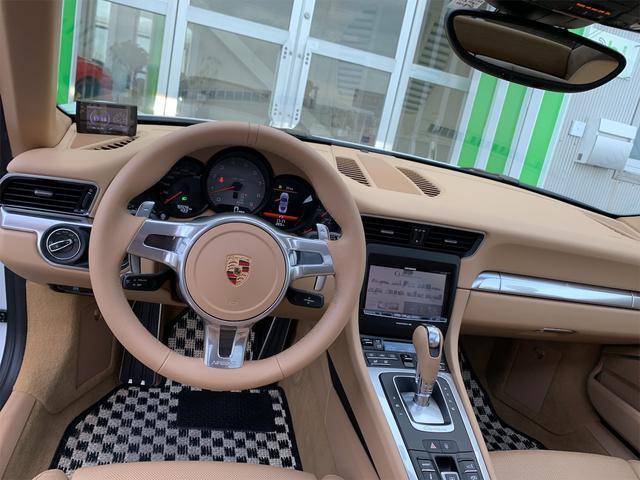 911カレラS 新車並行 サンルーフ スポーツエキゾースト ベージュ革 エアーシート&ヒーター ターボII20 エントリー&ドライブ HDDナビ/地デジ/Bカメラ ポルシェディーラー整備記録(20枚目)