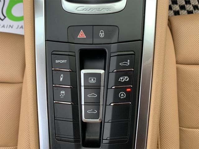 911カレラS 新車並行 サンルーフ スポーツエキゾースト ベージュ革 エアーシート&ヒーター ターボII20 エントリー&ドライブ HDDナビ/地デジ/Bカメラ ポルシェディーラー整備記録(21枚目)