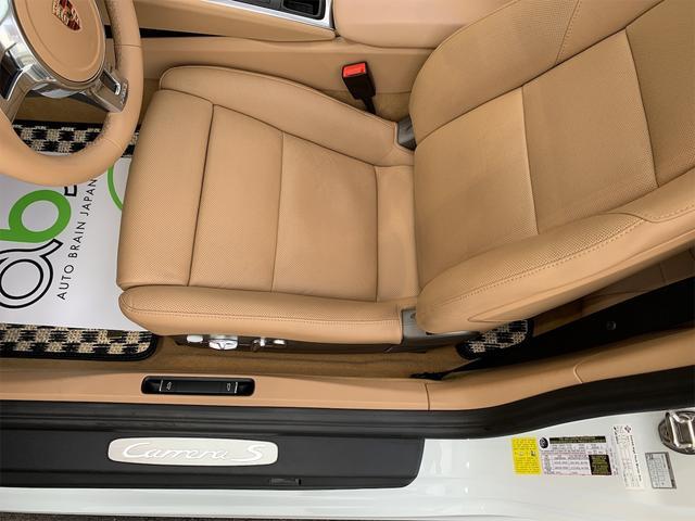 911カレラS 新車並行 サンルーフ スポーツエキゾースト ベージュ革 エアーシート&ヒーター ターボII20 エントリー&ドライブ HDDナビ/地デジ/Bカメラ ポルシェディーラー整備記録(24枚目)