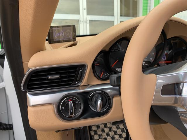 911カレラS 新車並行 サンルーフ スポーツエキゾースト ベージュ革 エアーシート&ヒーター ターボII20 エントリー&ドライブ HDDナビ/地デジ/Bカメラ ポルシェディーラー整備記録(25枚目)
