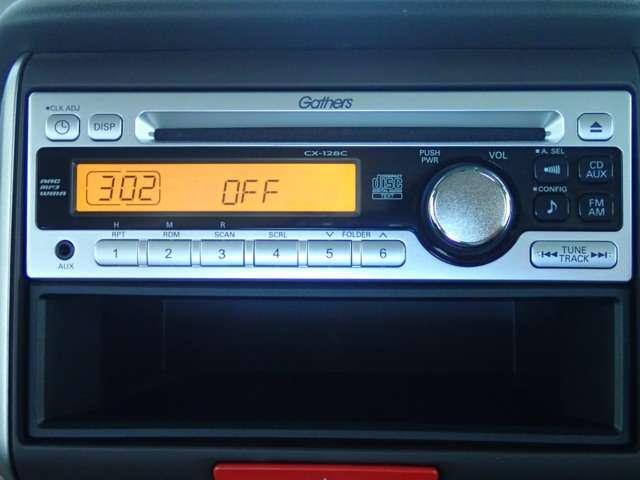 ホンダ純正CDチューナーを装備しております。音楽を聴きながらドライブも楽しいと思います♪