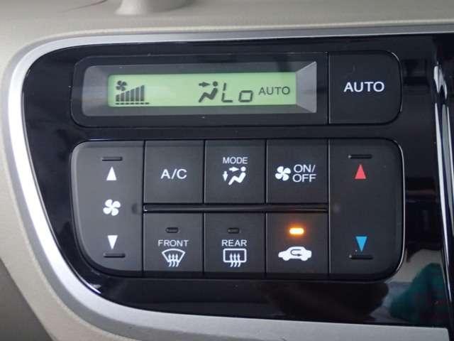 温度を調節すれば、自動で風量調整もしてくれる便利機能も付いてます!
