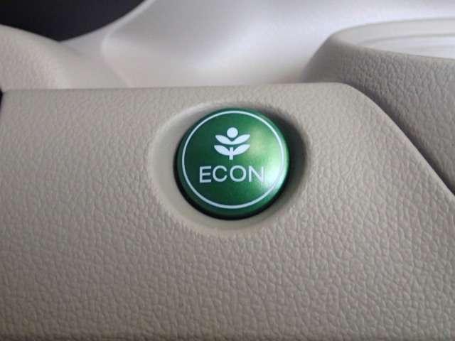 ECONスイッチです。クルマ全体の動きを低燃費モードになります♪