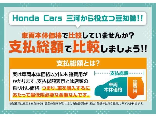 ハイブリッドアブソルート・EXホンダセンシング 当社デモカー(2枚目)