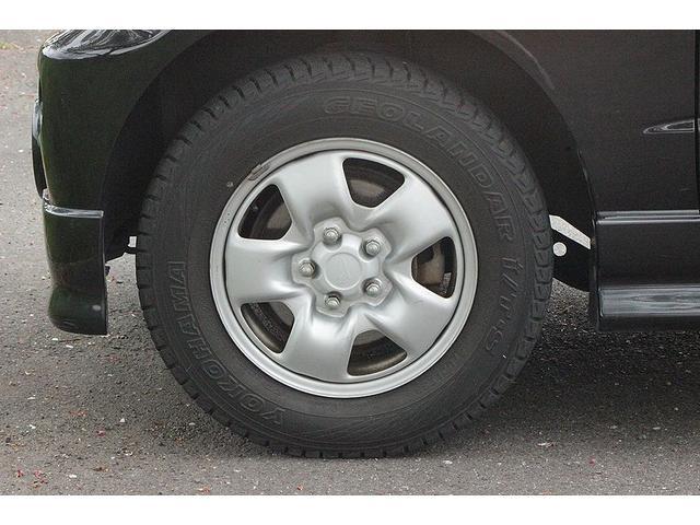 カスタムX ターボ 背面タイヤ 社外デッキ ドアバイザー(18枚目)
