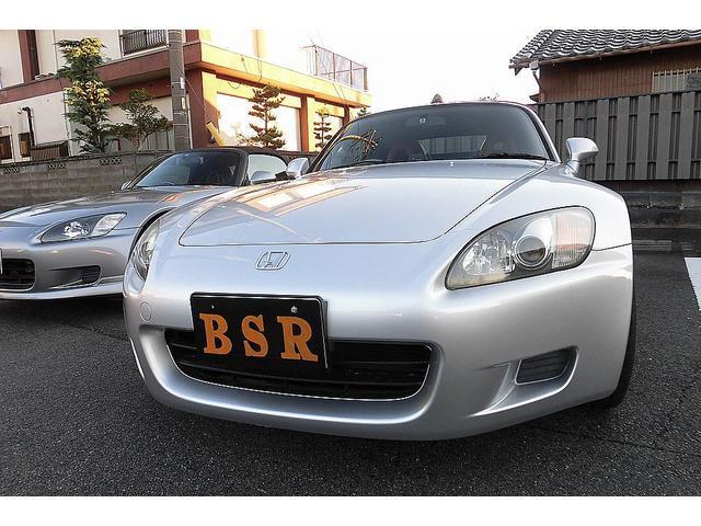 ホンダ S2000 2.0タイプV 6速マニュアル 新品赤幌 新品リアショック